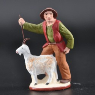 Homme à la chèvre