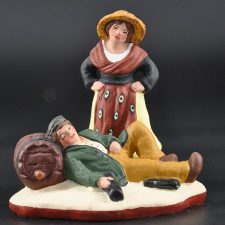 Couple de vigneron