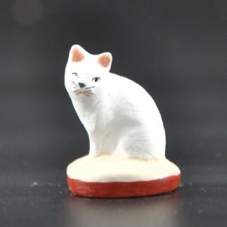 Chat grand blanc