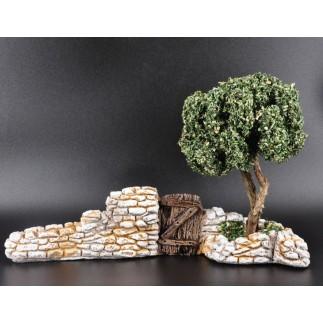 Mur olivier