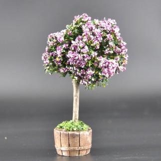 arbre chiné rose