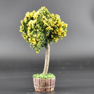 arbre jaune