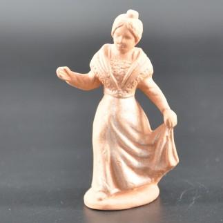 Arlésienne main à la robe