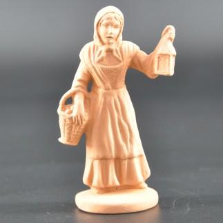 Femme à la lanterne brut